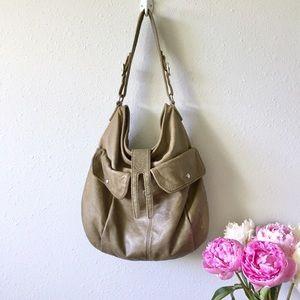 J Crew Green Leather Bag